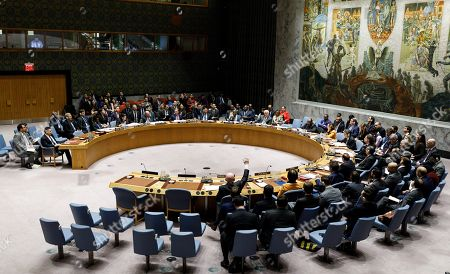 Editorial photo of United Nations Security Council Venezuela, New York, USA - 28 Feb 2019