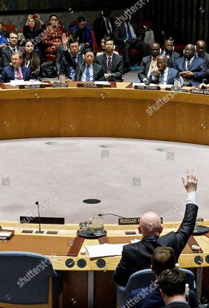 Editorial image of United Nations Security Council Venezuela, New York, USA - 28 Feb 2019