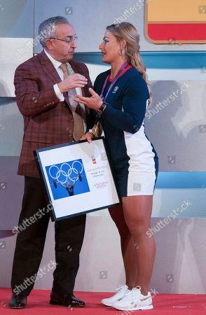 Editorial photo of Spanish Olympic Committee, Madrid, Spain - 28 Feb 2019