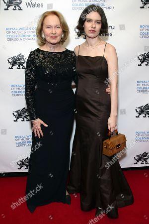 Kate Burton and Charlotte Burton