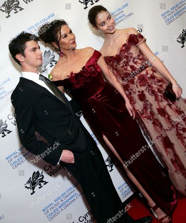Editorial photo of Wales' National Day Gala hosted by The Royal Welsh College of Music and Drama, Arrivals, New York, USA - 01 Mar 2019