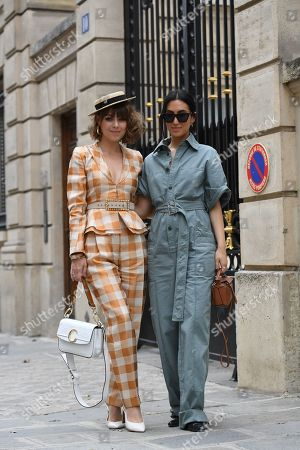 Editorial image of Street style, Fall Winter 2019, Paris Fashion Week, France - 28 Feb 2019