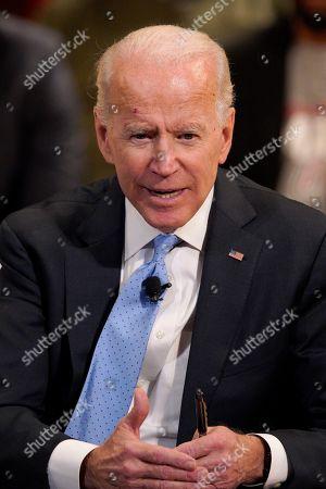 Editorial picture of Joe Biden, Omaha, USA - 28 Feb 2019