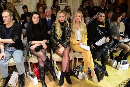 Editorial image of Heill show, Front Row, Fall Winter 2019, Paris Fashion Week, France - 27 Feb 2019
