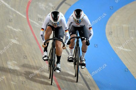 Stock Photo of Miriam Welte and Emma Hinze GER during the Womens Teamsprint