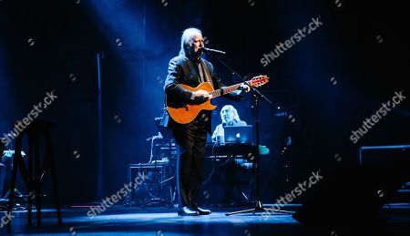 Joan Manuel Serrat performs at the Beacon Theater in New York, New York, USA, 28 February 2019.