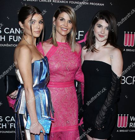 Olivia Jade, Lori Loughlin and Bella Giannulli