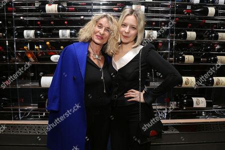 Stock Photo of Ann Dexter Jones and Annabelle Dexter-Jones