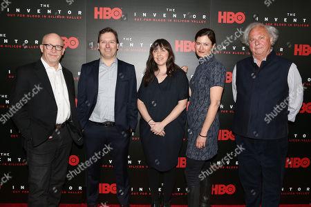 Alex Gibney (Director), John Carreyrou (Author), Erin Edeiken, Jessie Deeter and Graydon Carter (Producers)