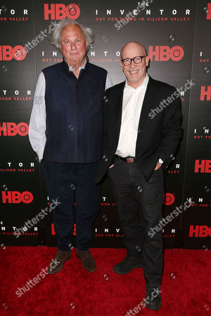 Stock Picture of Graydon Carter (Producer) and Alex Gibney (Director)