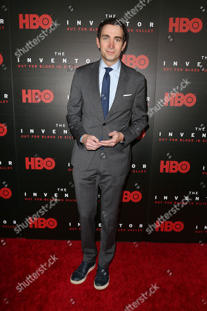"Editorial photo of HBO Hosts the Premiere of ""THE INVENTOR: OUT FOR BLOOD IN SILICON VALLEY"", New York, USA - 28 Feb 2019"