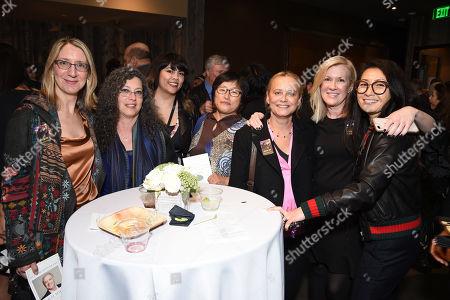 Mimi Steinbauer, Laurie Woodrow, Melissa Martinez, Naoko Tsukeda, Mirjam Wertheim, Kim Fox, Helen Lee Kim
