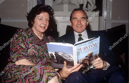 Sir Rex Hunt and wife Mavis
