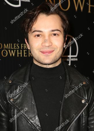 Editorial image of '30 Miles from Nowhere' film premiere, Los Angeles, USA - 28 Feb 2019
