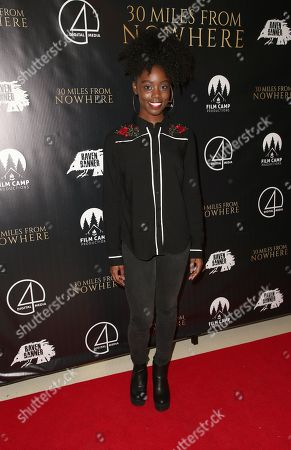 Editorial photo of '30 Miles from Nowhere' film premiere, Los Angeles, USA - 28 Feb 2019