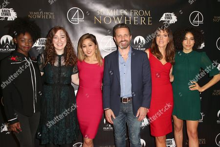 Stock Photo of Birgundi Baker, Caitlin Koller, Cathy Shim, Rob Benedict, Seana Kofoed, Marielle Scott