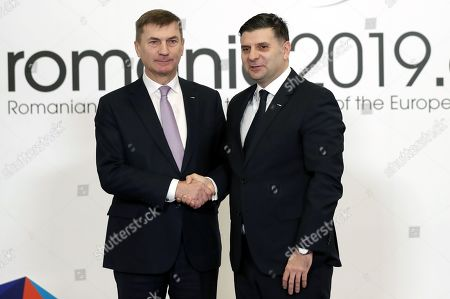 Editorial photo of Informal Meeting of EU Telecom Ministers in Bucharest, Romania - 01 Mar 2019