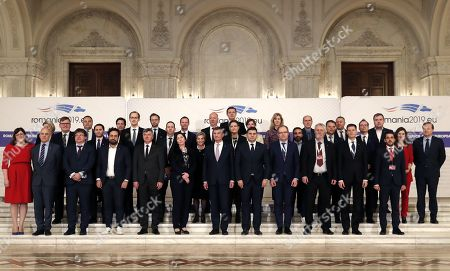 Editorial image of Informal Meeting of EU Telecom Ministers in Bucharest, Romania - 01 Mar 2019