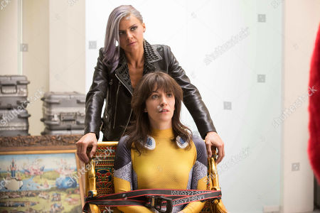 Eliza Coupe as Tiger and Britt Lower as Jeri Elizabeth Lang