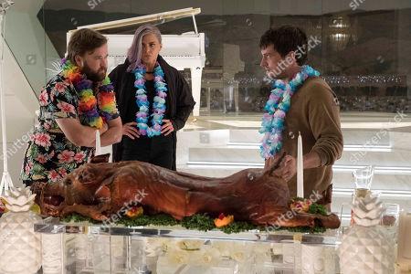 Haley Joel Osment as Stu Camillo, Eliza Coupe as Tiger and Josh Hutcherson as Josh Futturman