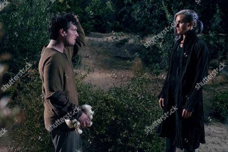 Josh Hutcherson as Josh Futturman and Eliza Coupe as Tiger
