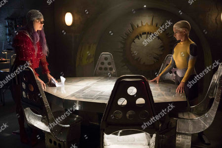 Eliza Coupe as Tiger and Katherine LaNasa as Athena