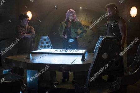 Editorial photo of 'Future Man' TV Show Season 2 - 2019