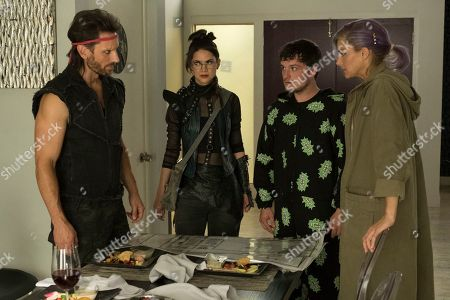 Derek Wilson as Wolf, Lilan Bowden as Fox, Josh Futturman as Josh Hutcherson and Eliza Coupe as Tiger