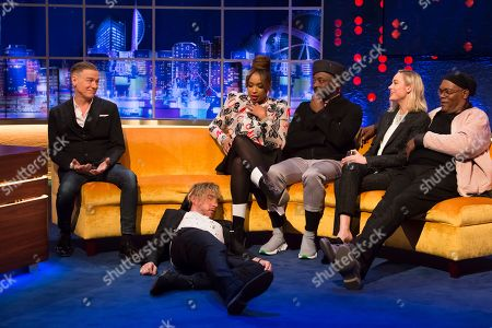 Editorial image of 'The Jonathan Ross Show' TV show, series 14, Episode 1, London, UK - 02 Mar 2019