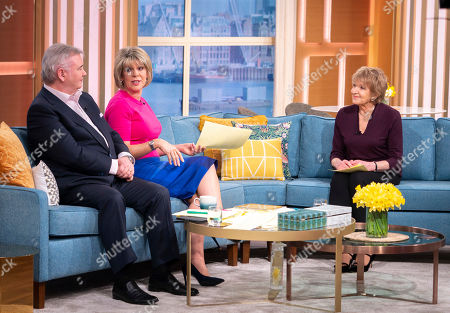 Eamonn Holmes and Ruth Langsford with Deidre Sanders
