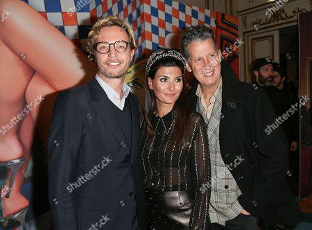 Markus Langes-Swarovski, Giovanna Battaglia and Stefano Tonchi