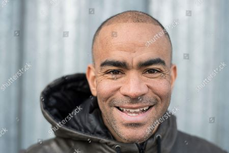 Kieron Dyer . Ex Footballer Kieron Dyer Feature In Ipswich At His House And Around Portman Rd Ipswich Town Fc Pic Andy Hooper/daily Mail.