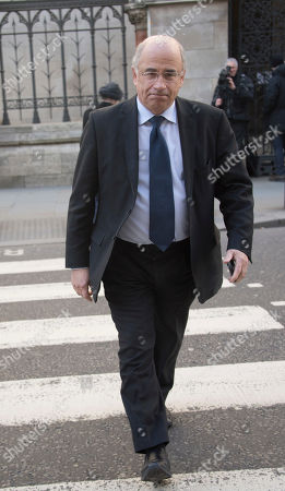 Sir Brian Leveson Qc Leaves The Royal Courts Of Justice In London Where He Ruled That Taxi Driver Rapist John Worboys' Victims Can Challenge The Parole Board's Decision To Release Him After Serving Only Eight Years. See Story.