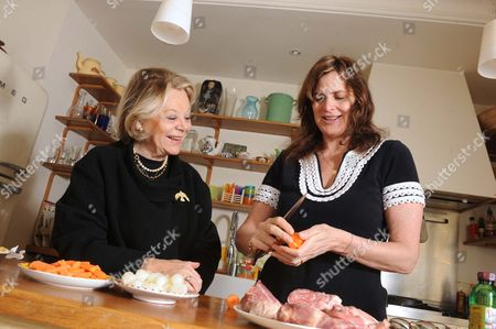 Editorial photo of Janine Di Giovanni and her mother in law, France - 2009