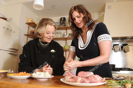 Editorial picture of Janine Di Giovanni and her mother in law, France - 2009