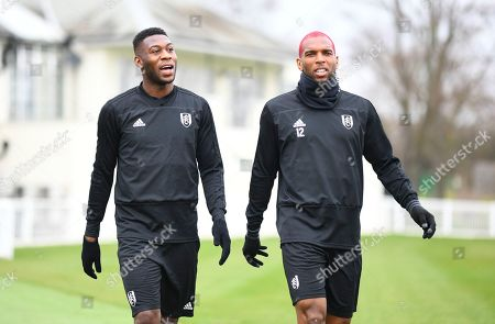 Timothy Fosu Mensah and Ryan Babel of Fulham