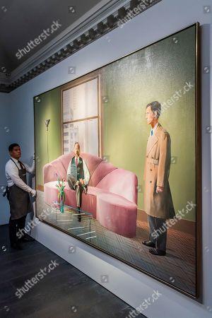 David Hockney, Henry Geldzahler and Christopher Scott, 1969, est £30m