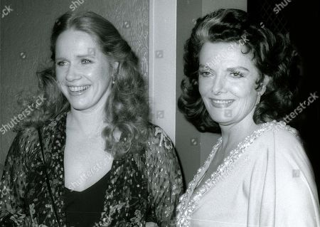 Liv Ullman and Jane Russell USA New York City