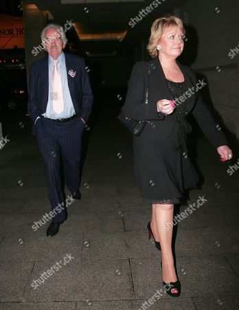 Des Lynam and partner Rose Diamond