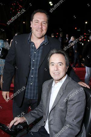 Jon Favreau and Universal's Rick Finkelstein