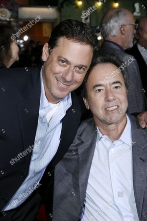 Stock Picture of Universal's Adam Fogelson and Rick Finkelstein