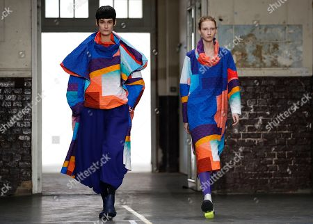 Editorial photo of Issey Miyake - Runway - Paris Fashion Week Women F/W 2019/20, France - 01 Mar 2019