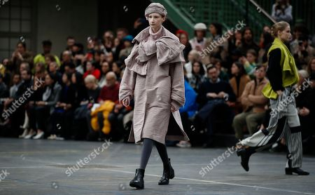Editorial image of Issey Miyake - Runway - Paris Fashion Week Women F/W 2019/20, France - 01 Mar 2019