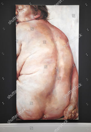 Jenny Saville painting, entitled Juncture
