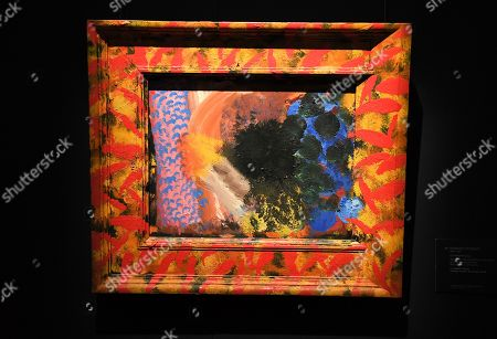 Howard Hodgkin painting, entitled Counting the Days
