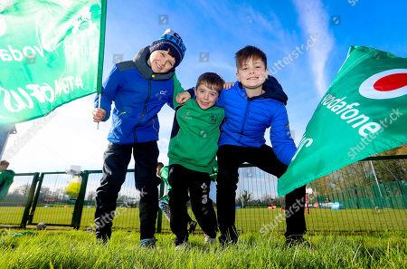 Editorial image of Ireland Rugby Open Training, Queens University, Belfast  - 01 Mar 2019