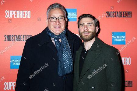 Editorial image of 'Superhero' play opening night, New York, USA - 28 Feb 2019