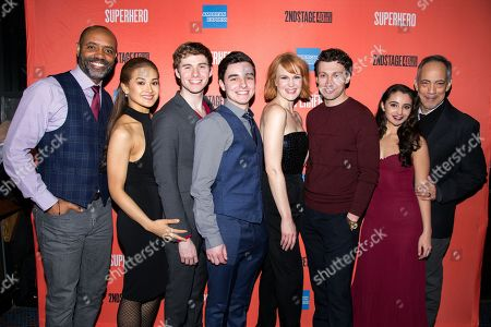 Editorial image of 'Superhero' play opening night, New York, USA - 28 Feb 2019
