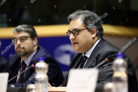 Editorial photo of Libe Committee Meeting, Brussels, Belgium - 26 Feb 2019