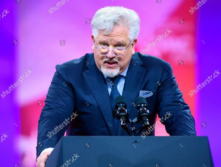Glenn Beck of BlazeTV speech at the Conservative Political Action Conference (CPAC) at the Gaylord National Resort and Convention Center